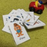 I made the Caractor's Cards.
